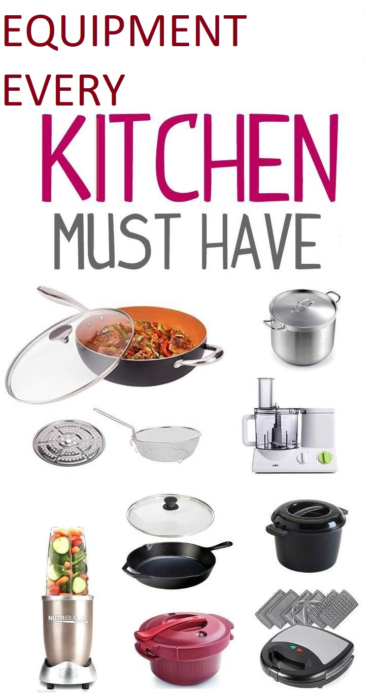 Equipment-every-kitchen-must-have