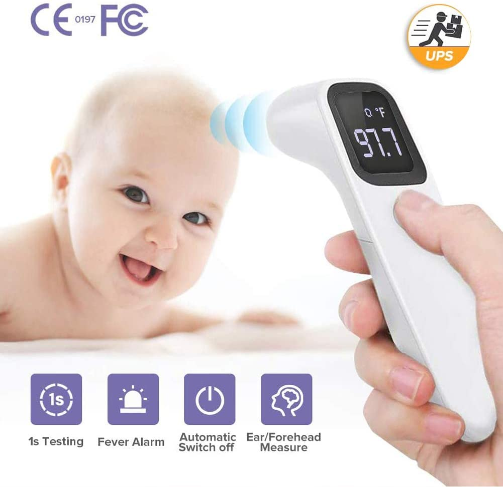 Non contact baby thermometer
